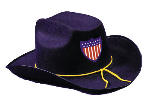 Civil War Costumes - Costumes For All Occasions GC27BU Civil War Hat Econo Blue