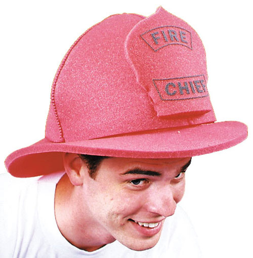 Foam Hats - Costumes For All Occasions GC28 Fire Chief Hat Foam