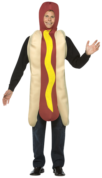 Costumes For All Occasions GC304 Hot Dog Cotume MRRS8763