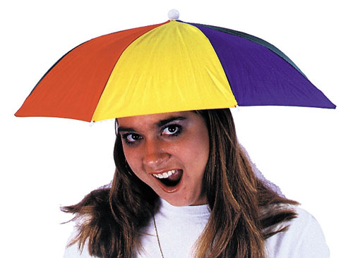 Costumes For All Occasions GC40 Umbrella Hat 1 Size MRRS8802