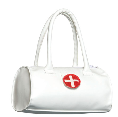 Nurse Costume - Costumes For All Occasions GC5996 Purse Nurse Bag