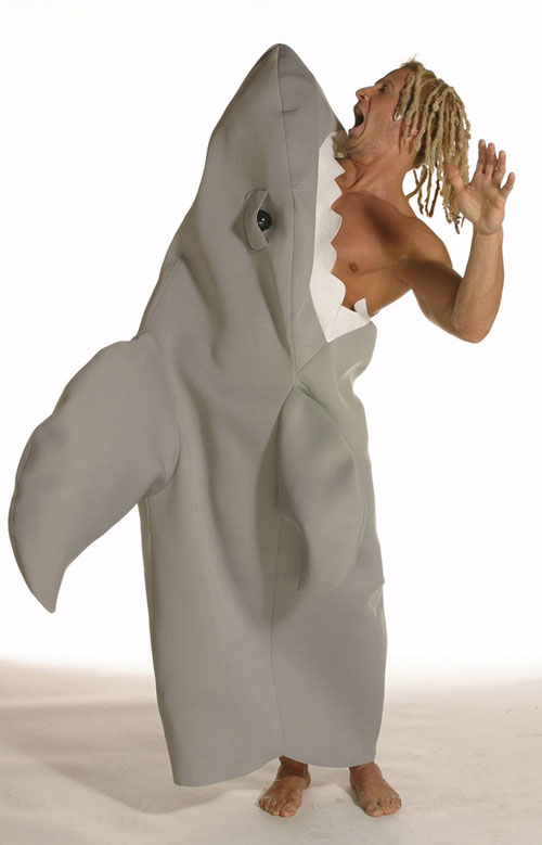 Shark Costume - Costumes For All Occasions GC7137 Shark Attack New Style