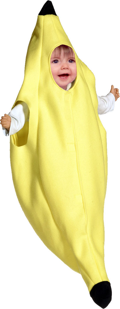 Banana Costume - Costumes For All Occasions GC9022 Banana Bunting