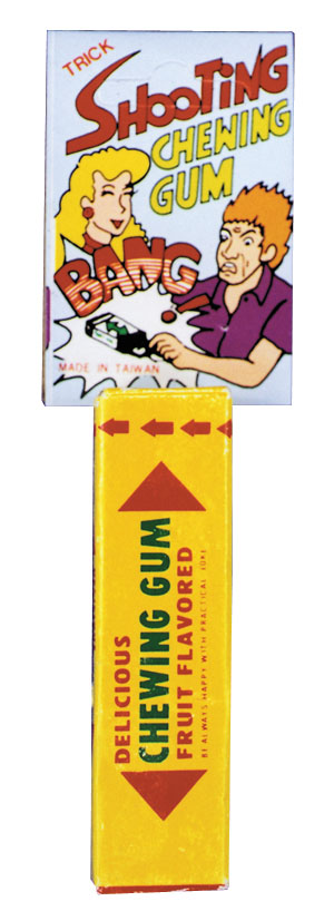 Costumes For All Occasions KB248 Shooting Pack Of Gum
