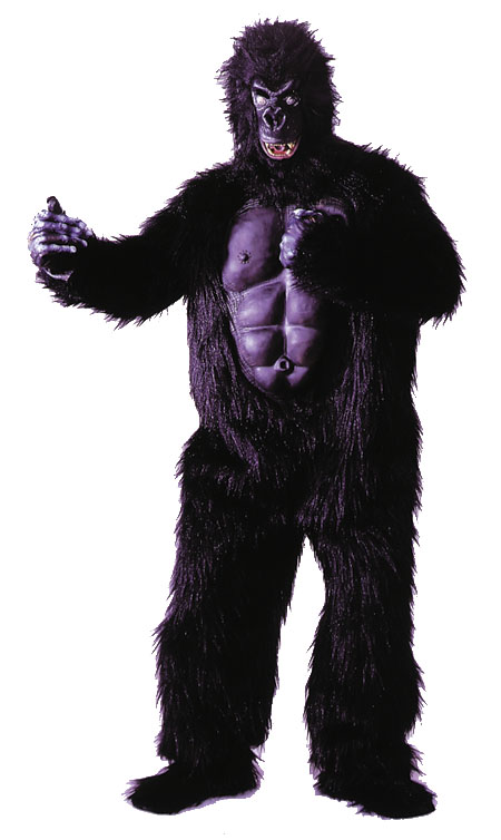 Costumes For All Occasions AD20 Gorilla W Chest