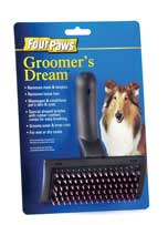 Four Paws Products Groomers Dream Brush - 00155