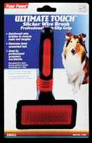 Four Paws Products Firm Slicker Brush Small - 11251