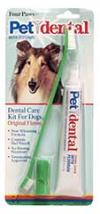 Four Paws Products Dog Dental Kit 3 Piece - 41020