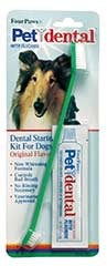 Four Paws Products Dog Dental Starter Kit 2 Piece - 41030