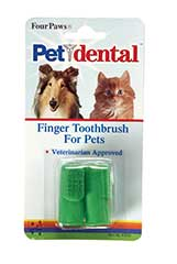 Four Paws Products Finger Toothbrush - 41040