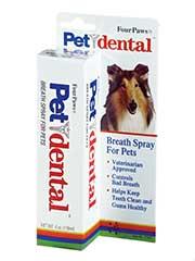 Four Paws Products Pet Dental Breath Spray 4 Ounces - 41045