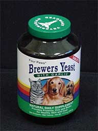 Four Paws Products Brewers Yeast With Garlic 1000 Count - 31000