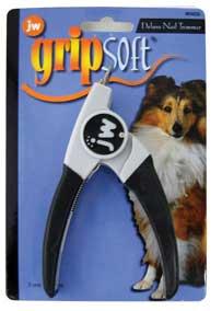 J W Pet Company Grip Soft Dlx Dog Nail Trimmer - 65039