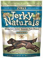 Zuke S Jerky Naturals Treats Beef 5 Ounces - 22550