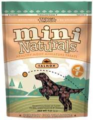 Zuke S Natural Moist Mini Treat Salmon 1 Pound - 33524