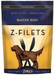 Zuke S Z-filets Treats Beef 3.25 Ounces - 44550