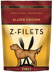 Zuke S Z-filets Treats Chicken 3.25 Ounces - 44551