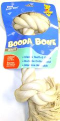 Booda Products 2 Knot Rope Dog Bone White Xx Large - 5076550710 T