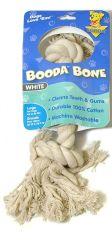 Booda Products 2 Knot Rope Dog Bone White Large - 5076350706 T
