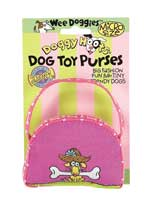 Dog Purses - Fat Cat Micro Purse Dog With Bone Toy Pack Of 3 - 30203-05