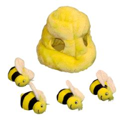 Kyjen Company Hide A Bee Dog Toy 7.5 Inch - PP01055