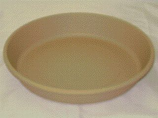 Akro-mils Classic Saucer Tan 12 Inch Pack Of 12 - 12412DS
