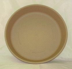 Akro-mils Classic Saucer Tan 16 Inch Pack Of 12 - 12417DS