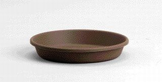 Akro-mils Classic Saucer Brown 10 Inch - 12410DCHOC