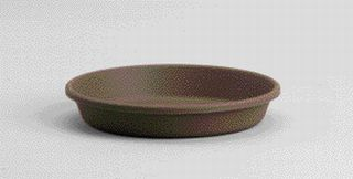 Akro-mils Classic Saucer Brown 12 Inch - 12412CHOC