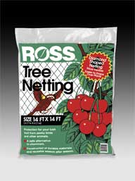 Easy Gardener Weatherly Consum Ross Tree Netting Black 14 X 14 Feet - 15624