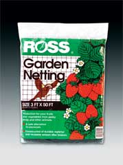 Easy Gardener Weatherly Consum Ross Garden Netting Black 3 X 50 Feet - 16440