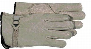 Leather Gloves - Boss Co Unlined Leather Glove Gray Medium Pack Of 12 - 4070M\1191M