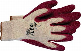 Boss Co Flexigrip Latex Palm Glove Raspberry Pack Of 12 - 8423S529