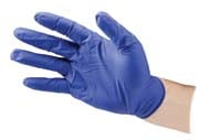 Kane Enterprises Cobalt Glove Powderfree 100 Bx Blue Xlarge - CB400-XL