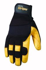 Deerskin Gloves - Wells Lamont Ultra Deerskin Gloves Medium Pack Of 3 - 3210M