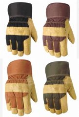 Wells Lamont Gloves - Wells Lamont Winter Pigskin Lined Glove Brown Large Pack Of 6 - 5235L