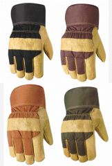 Wells Lamont Gloves - Wells Lamont Winter Pigskin Lined Glove Brown Extra Large Pack Of 6 - 5235XL