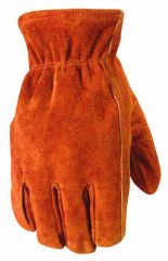 Wells Lamont Gloves - Wells Lamont Winter Suede Lined Glove Brown Large Pack Of 6 - 1068L