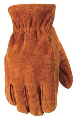 Wells Lamont Gloves - Wells Lamont Winter Suede Lined Glove Brown Medium Pack Of 6 - 1068M