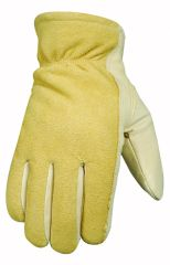Wells Lamont Gloves - Wells Lamont Winter Cowhide Lined Glove Brown Medium Pack Of 3 - 1158M