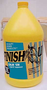 Finish Line Horse Products inc Thiacal Liquid B1 32 Ounces 49032