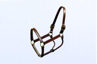 Beiler S & Supply Thoroughbred Cob Halter Brown 1 Inch - 192