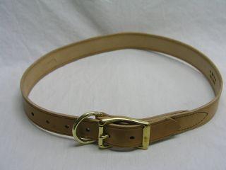 Beiler S & Supply Cow Collar Tan 1 1 2 X 48 Inch - 48/40