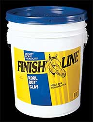 Finish Line Horse Products inc Kool Out Clay Poultice 23 Pounds 05023