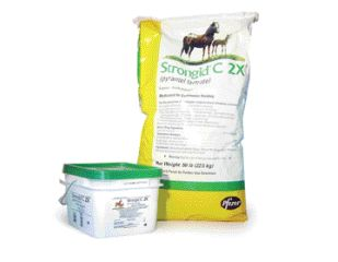 Pfizer Horse Strongid C2x 10 Pound - 7900