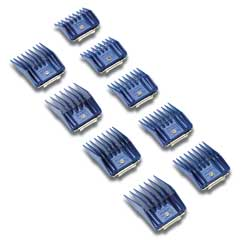 Andis Company 9 Piece Comb Set Blue Small - 12860