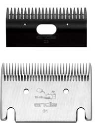 Andis Company Clipper Blade 31-23 Blade Set Black - 70225