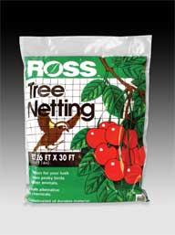Easy Gardener Weatherly Consum Ross Tree Netting Black 26 X 30 Feet - 15991