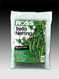 Ross Trellis Netting Black 6 X 8 Feet  16037