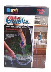 Lee S Aquarium & Pet Products Ultimate Gravel Vac 50 Ft Kit 50 Feet - 11571
